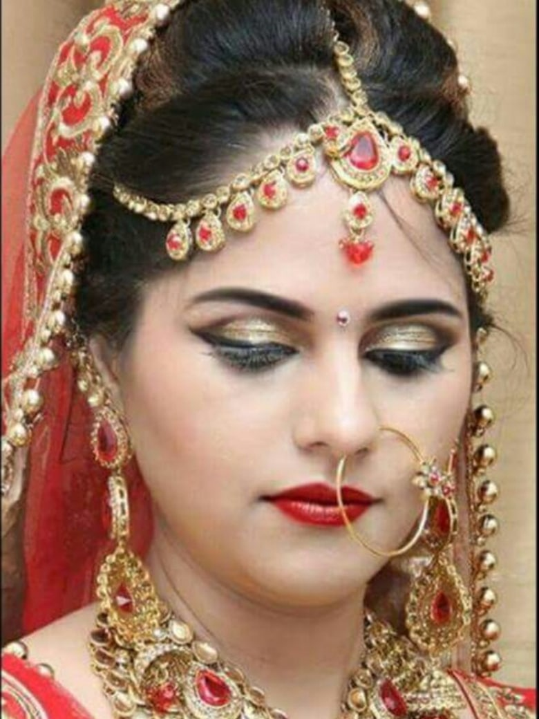 bridal makeup by meegash