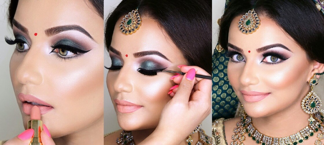 contouring for brides